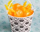 Cute Metal Damask Design Pails wedding favors