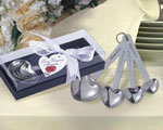 Heart Shaped Measuring Spoons wedding favors