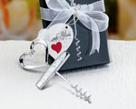 Heart Design Corkscrews wedding favors