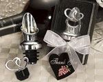 Heart Design Wine Pourer/Stopper wedding favors