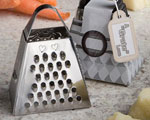 "A""Grate"" Love Collection Cheese Grater wedding favors"