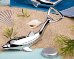 Dolphin Bottle Openers In Diorama Box wedding favors