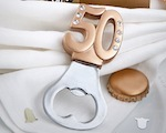 50th Design Bottle Openers wedding favors