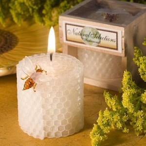 Pure Beeswax Candles wedding favors