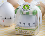 """Egg Stra"" Special Baby Themed Egg Timer Favors wedding favors"