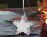 Silver Star Place Card Holders wedding favors