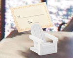 Adirondack Chair Place Card Holders wedding favors
