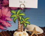 Ocean Breezes Collection Palm Tree Place Card Holders wedding favors