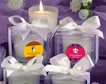 Personalized Expressions Collection Candle Favors wedding favors