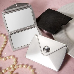 Fashionable Purse Design Compact Mirror Favors wedding favors