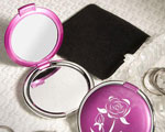 Chic Compact Mirror Favors wedding favors