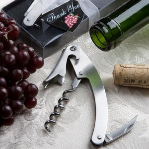 Vineyard Collection Wine Tool Favors wedding favors