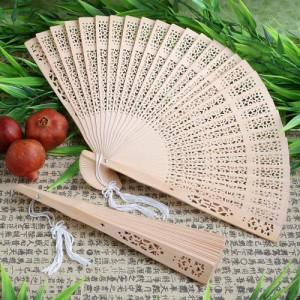 Sandalwood Fan Favors wedding favors