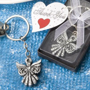 Angel Key Chain Favors wedding favors