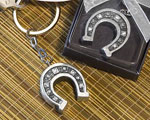 Horseshoe Key Chain Favors wedding favors