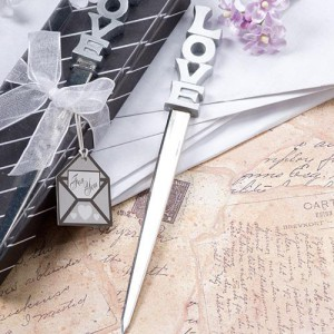 Love Design Letter Opener Favors wedding favors