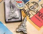 Love In Paris Collection Eiffel Tower Key Chain Favors wedding favors