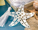Book Lovers Collection Starfish Bookmarks wedding favors
