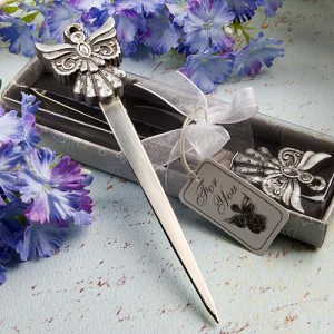 Angel Design Letter Openers wedding favors