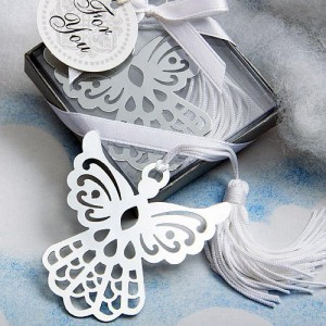 Book Lovers Collection Angel Bookmark Favors wedding favors