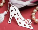 Stylish Book Lovers Collection Shoe Bookmarks wedding favors