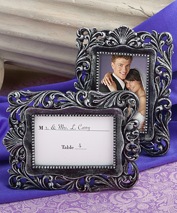 Baroque-style Place Card Holder/picture Frame Favors wedding favors