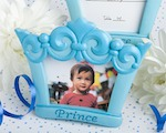 Blue Crown Design Photo/Place Card Frames wedding favors