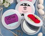 Personalized Expressions Collection Mirror Compact Favors wedding favors