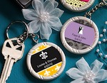 Personalized Expressions Collection Key Ring Favors wedding favors