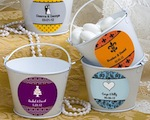 Personalized Expressions Collection Pail Favors wedding favors