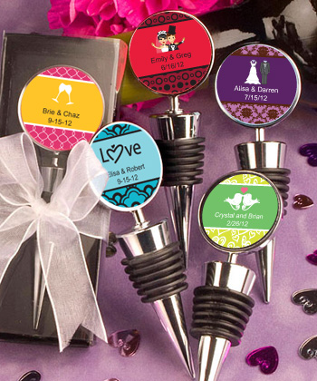 Personalized Expressions Collection Wine Bottle Stopper Favors wedding favors