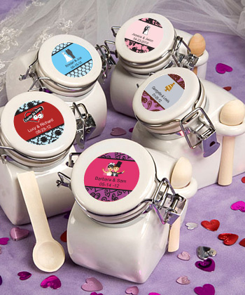 Personalized Expressions Collection Ceramic Jar Favors wedding favors