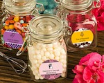 Personalized Expressions Collection Apothecary Jar Favors wedding favors