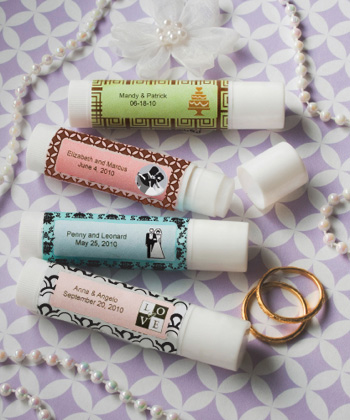 Personalized Expressions Collection Lip Balm Favors wedding favors