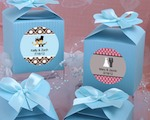 Design Your Own Collection Decorative Boxes - Blue wedding favors