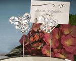Exquisite Clear Butterfly Place Card Holders wedding favors