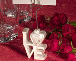 LOVE Design Place Card Holders wedding favors