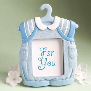 Cute Baby Themed Photo Frame Favors - Boy wedding favors