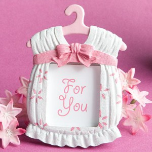 Cute Baby Themed Photo Frame Favors - Girl wedding favors