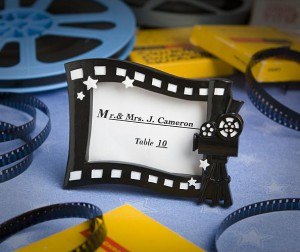 Hollywood Movie Themed Place Card/photo Frame wedding favors