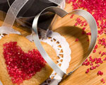 Heart Shaped Cookie Cutters From The Favor Saver Collection wedding favors
