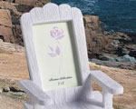 Adirondack Place Card Frame wedding favors