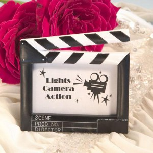 Resin Clapboard Style Placecard Frame wedding favors