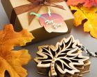 Autumn Allure Collection Fall Leaf Box Favors wedding favors