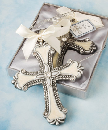 Decorative Cross Ornament Favors wedding favors