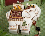 Elephant Design Curio Boxes wedding favors