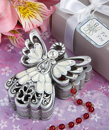 Angel Design Trinket Box wedding favors