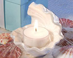 Exceptional Shell Design Candle Favors wedding favors