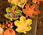 Autumn Magic Collection Leaf Candy Dishes wedding favors