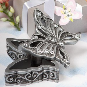 Butterfly Design Curio Box Favor wedding favors